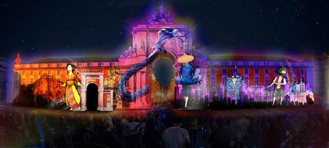 O espectáculo de vídeo mapping alusivo a Macau pode ser visto entre 12 e 16 de março.