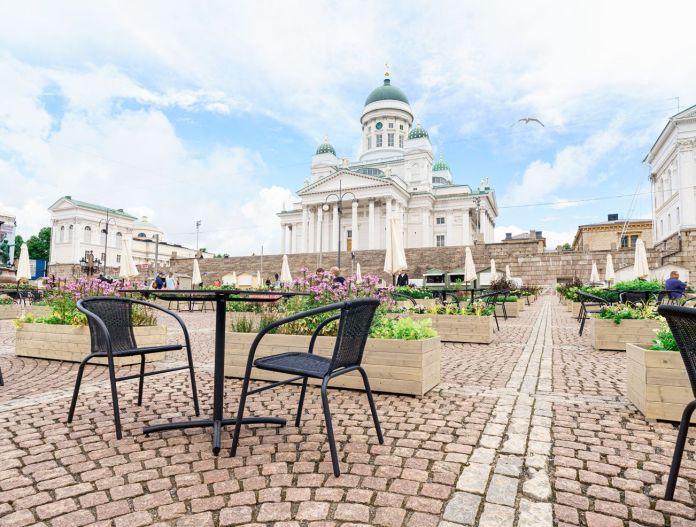 Catedral de Helsínquia, na Finlândia