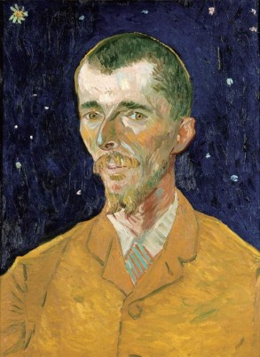 """""""Portrait of Eugène Boch"""" 1888 by Vincent van Gogh. I believe this was the only Van Gogh in the collection."""