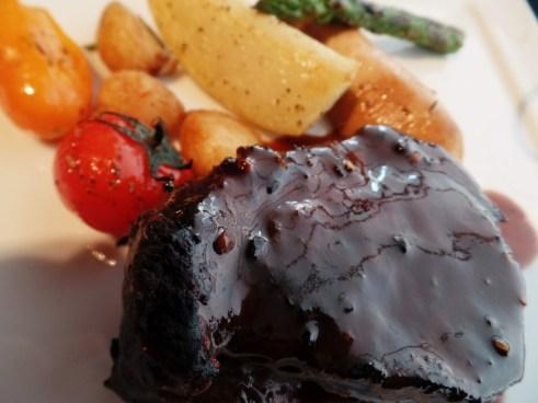 Filet Mignon Steak, Pepper Cream