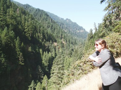 Hugging nature or wanting to take it all for myself?