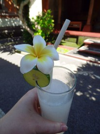 Paon Cooking Class Refreshing Welcome Drink