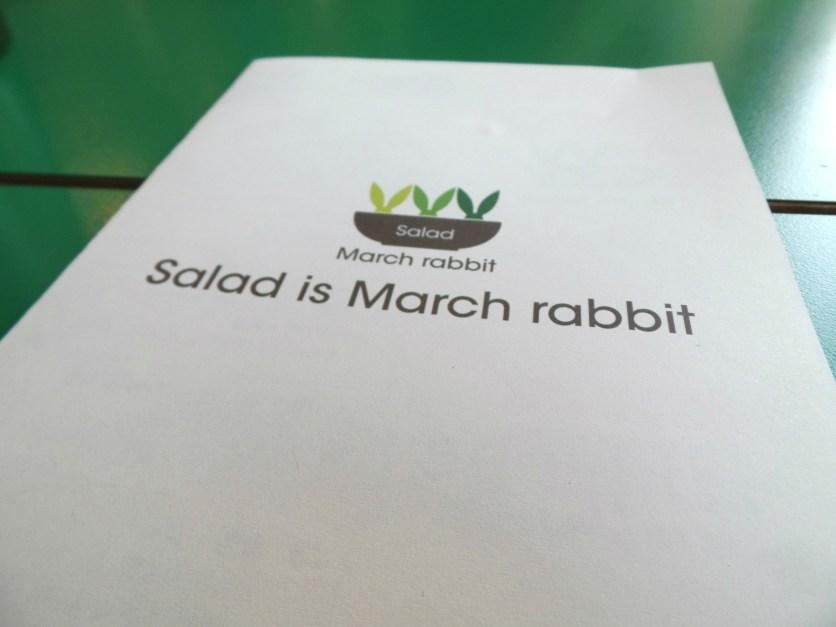 march rabbit salad garosugil 005