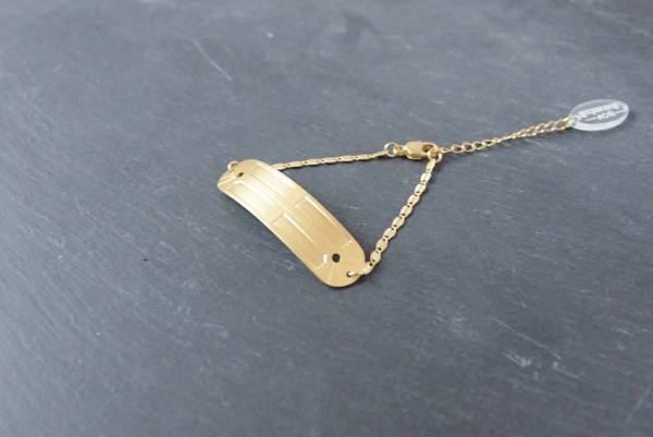 bracelet fin alma laiton dore or fin vous mademoiselle