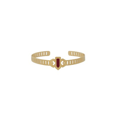 vous-mademoiselle-bracelet-jonc-tina-burgundy -bijoux