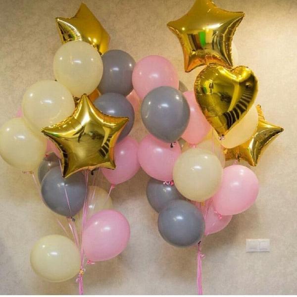 Готовое решение из воздушных шаров Внезапность