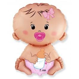 Фольгированный шар малышка