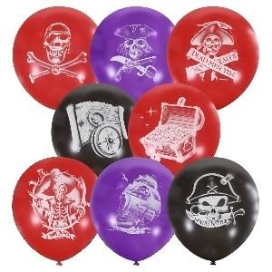 Воздушные шарики ПИРАТЫ