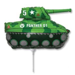 Шар Танк Зеленый 81 см