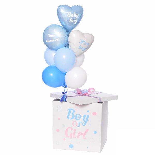 Коробка сюрприз Это Мальчик (Гендер Пати)