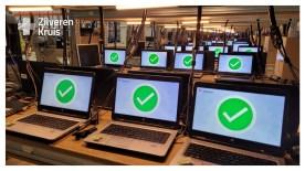 Operatie installeren refurbished laptops bij Zilveren Kruis