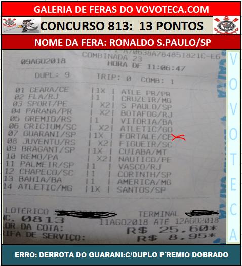 813 13P RONALDO