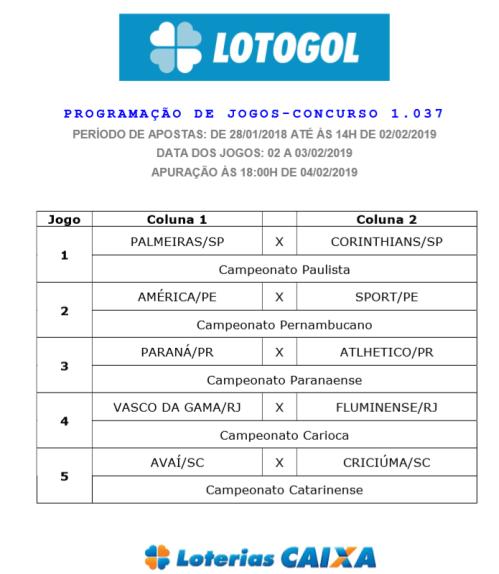 lotogol 1037