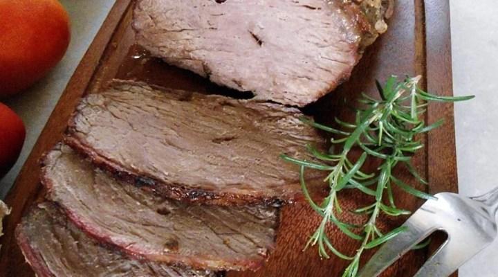 Picanha assada com Bacon e Picanha de Forno