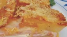 Lasanha de batata com presunto e muçarela: prepare e deixe todos encantados