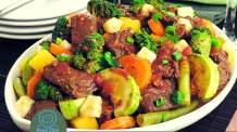 Picadinho de carne com legumes, comer bem, faz bem