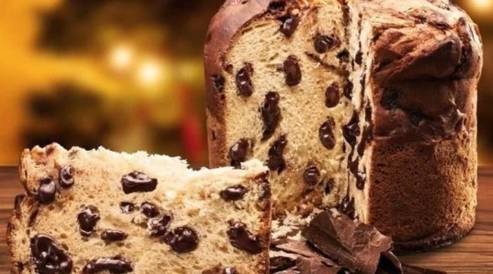 Panetone recheado gotas de chocolate, receita de panetone caseiro