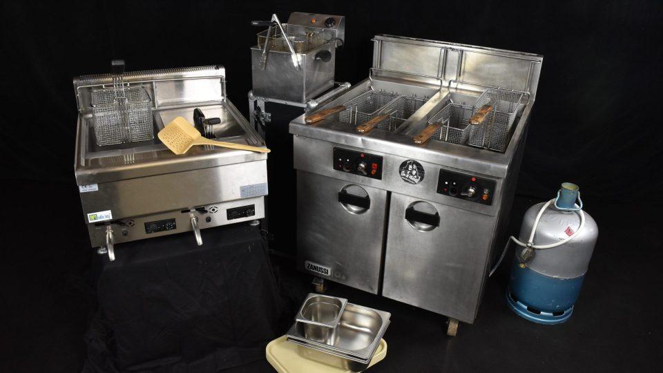 Friteuse à gaz ou électrique