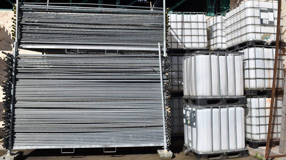 Barrières de chantier - Cuve de lestage