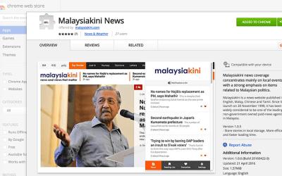 Get Malaysiakini News via Chrome Extension