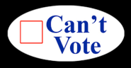 Can't vote