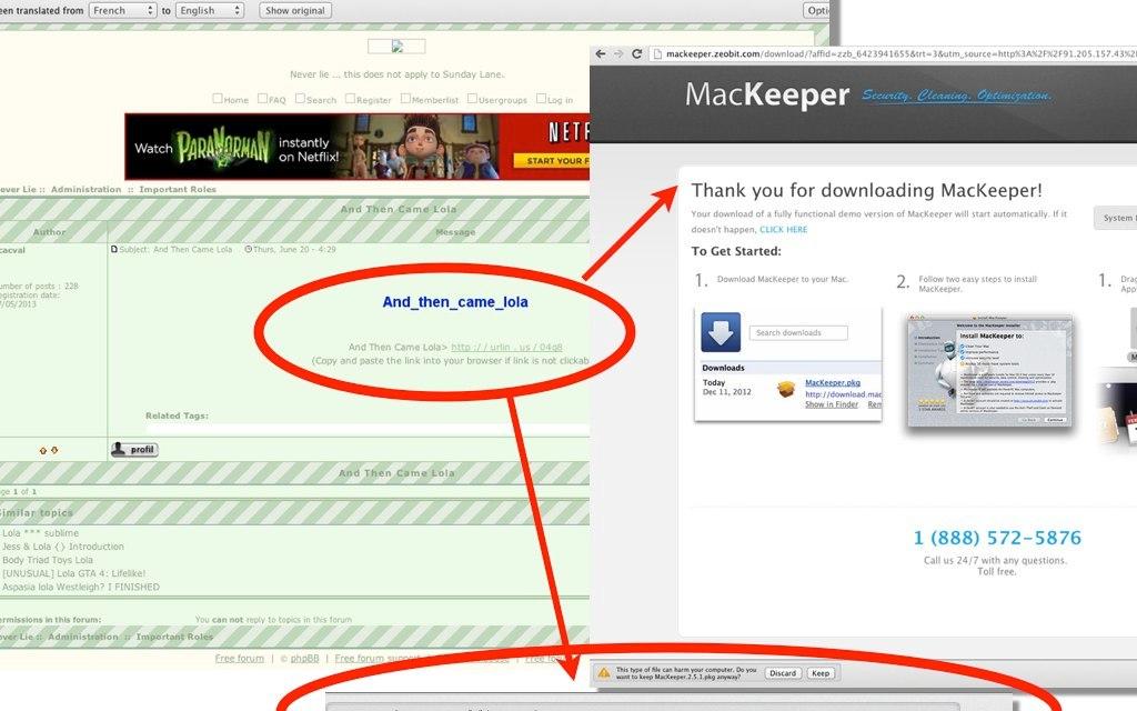 MacKeeper's scam, a company that has no shame