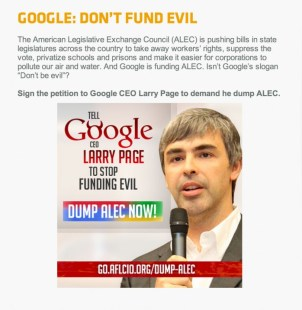 Google-ALEC-petition