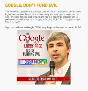 Google-ALEC-petition