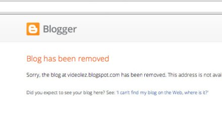 One small victory against Google Blogspot movie piracy, yet many more battles remain