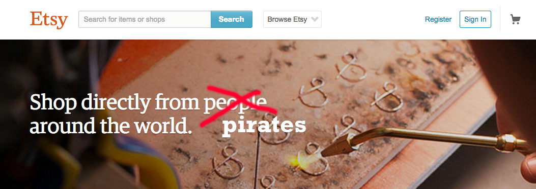 "Etsy uses DMCA ""safe harbor"" to protect photography pirates"