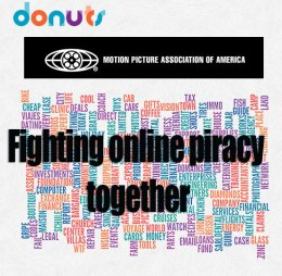 Donuts and MPAA fight piracy