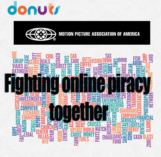 MPAA & domain registrar 'Donuts' announce partnership to reduce online piracy