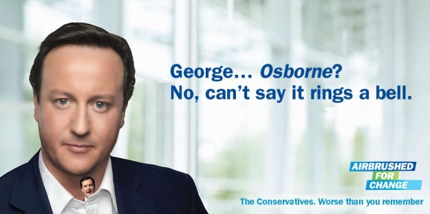 Where's George? Osborne has been in hiding since his latest attempt at a Budget failed.