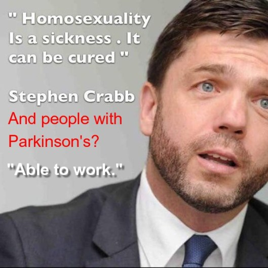 Here are some more of Mr Crabb's views.