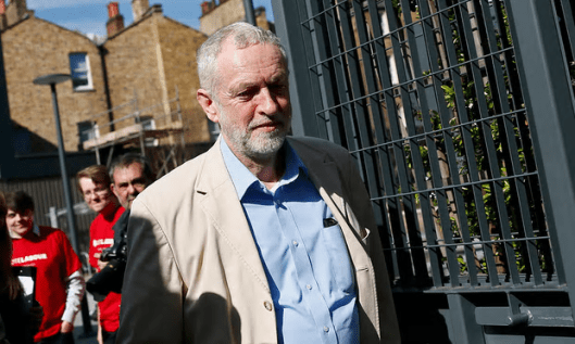 Jeremy Corbyn: 'We have a party under attack from much of the media in this country like it has never been under attack before' [Image: Stefan Wermuth/Reuters].