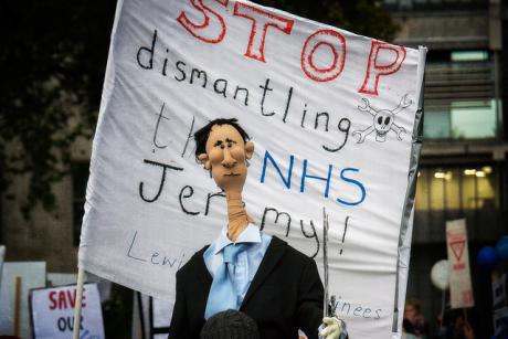 160514 jr dr protest jeremy hunt