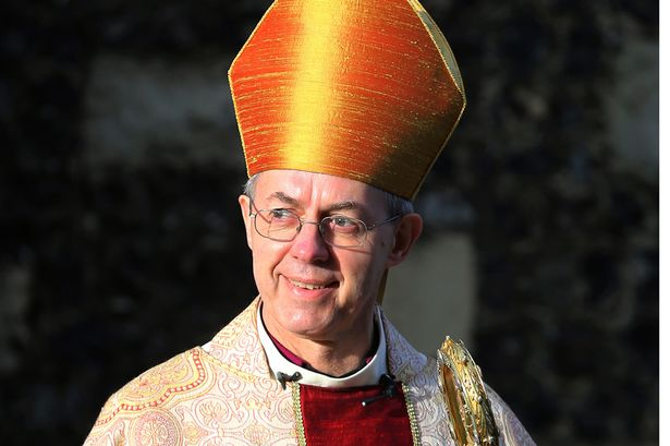 Archbishop of Canterbury Justin Welby branded Farage's comments racist [Image: PA].