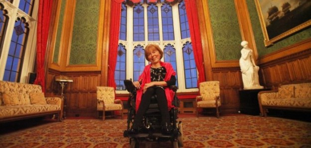 Baroness Jane Campbell.