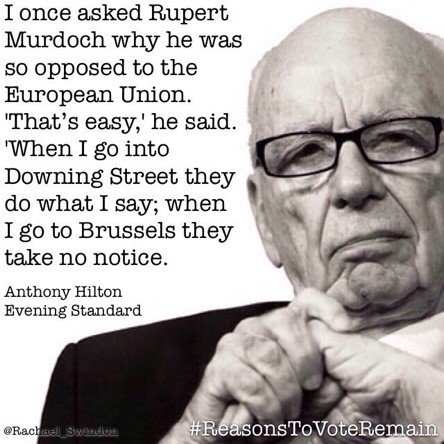 160614 Rupert Murdoch EU