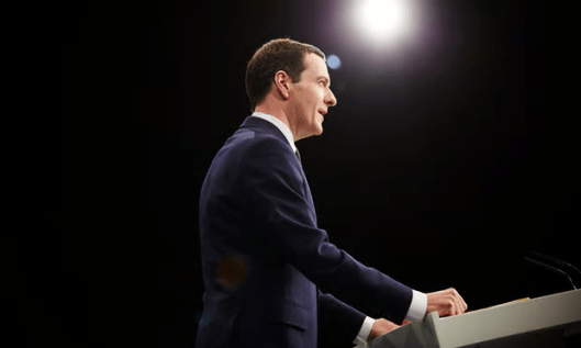 Yesterday's man: George Osborne will be an irrelevance if the UK votes 'Leave' [Image: Christopher Thomond for the Guardian].