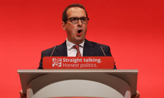 "Owen Smith: Even organisations reporting his campaign like the BBC can't be straight about him, so how can we ever rely on ""honest politics""? [Image: Gareth Fuller/PA]."