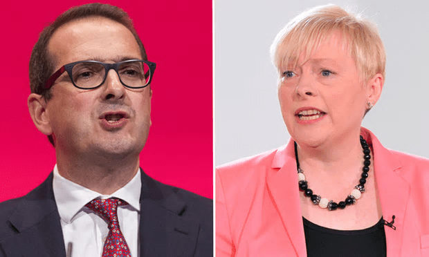 Owen Smith and Angela Eagle would receive a boost in votes if anti-Corbyn voters returned to Labour via an illegal data harvesting method proposed by Progress and apparently supported by Labour First and Saving Labour[Composite: Rex, PA].