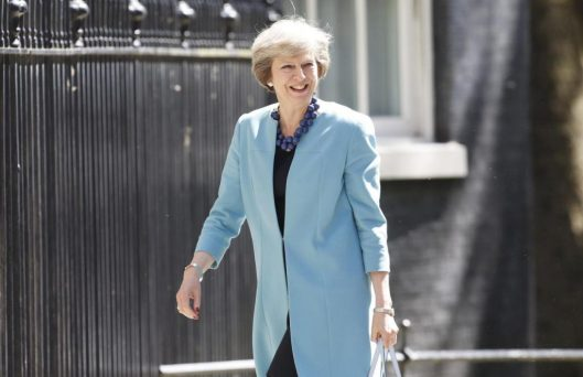 May said she personally called chief executive of Softbank about the £24 billion ARM takeover [Image: REUTERS/Paul Hackett].
