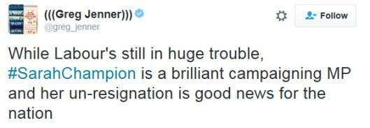160725 Sarah Champion Tweet 1