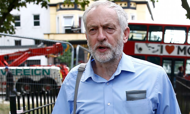 Jeremy Corbyn did not attend the High Court to hear the judgement [Image: Peter Nicholls/Reuters].