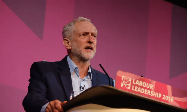 Jeremy Corbyn's team said it was delighted with the endorsement from the constituency parties [Image: Ian Forsyth/Getty Images].