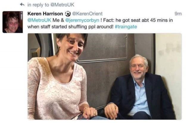 160823 Corbyn train Keren Harrison