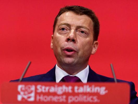 Iain McNicol (not Constable Savage) [Image: Getty].