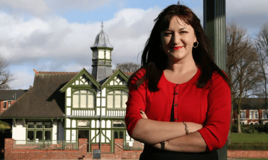 Ruth Smeeth MP walked out of a press conference for the launch of an independent review into antisemitism in the Labour party. Her claim that she had been subjected to anti-Semitism and accusations of being in a 'media conspiracy' were later proved to be false [Image: (Unattributed)].