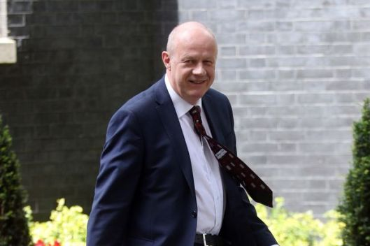 Damian Green: He won't have read the comments in this article; worse, he clearly doesn't care [Image: Daily Mirror].